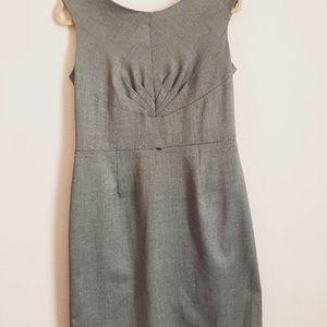 Woman's grey dress